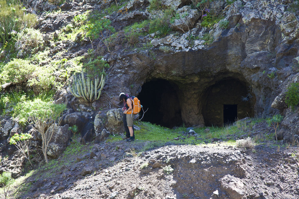 Barranco Natero - tunnel entrance