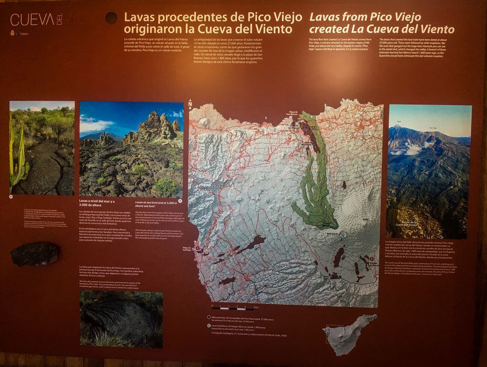 Information in the visitor centre