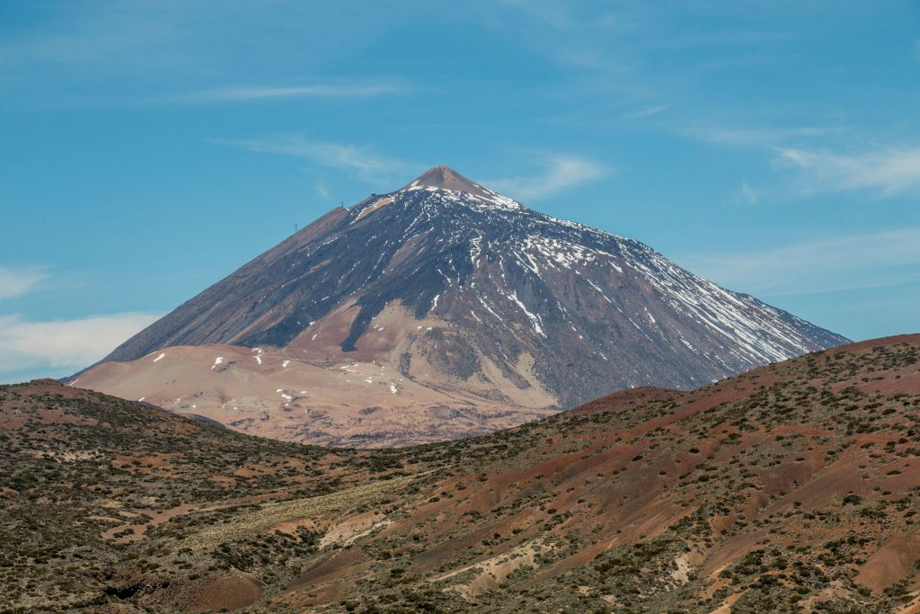 Teide north side view