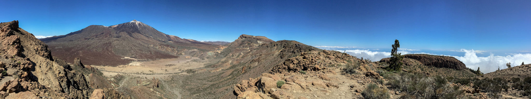 Teide with Pico Viejo and Caldera