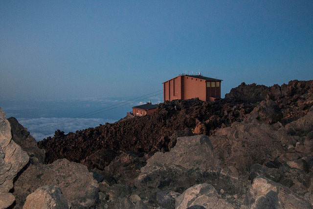 Teide - cable car station