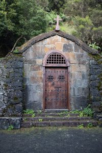 chapel at the hiking trail