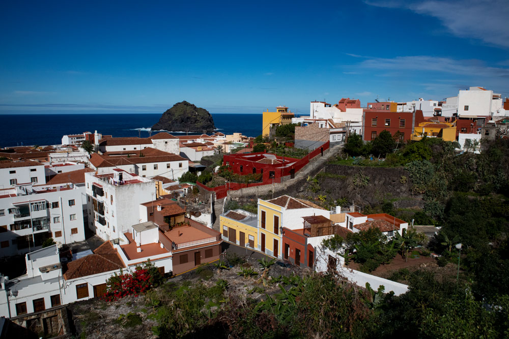Garachico - little town with colourful houses