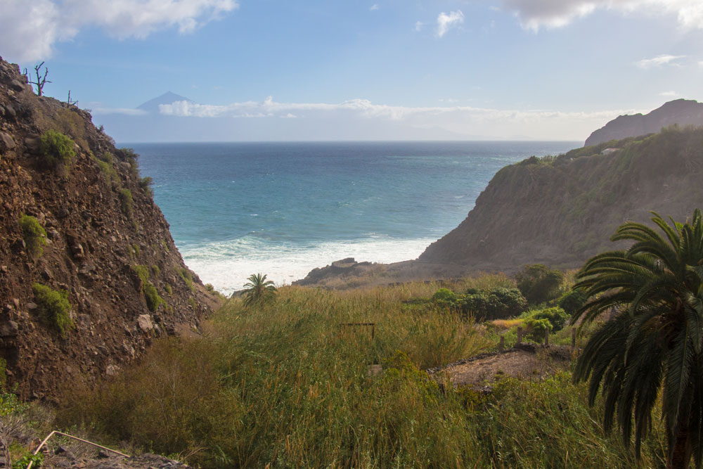 view over the Barranco of Tenerife