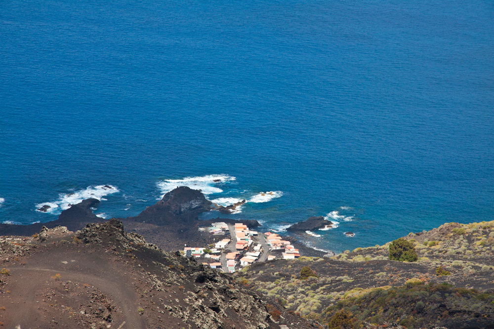 La Palma - Hiking - view to the coastline