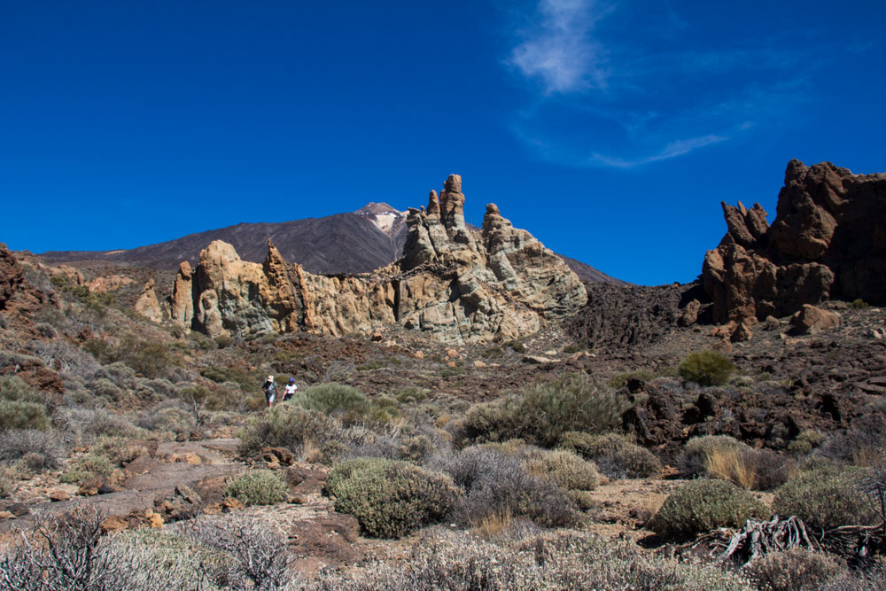 Rocks, Cañadas and the Teide