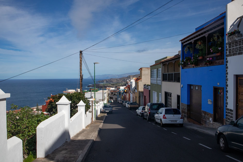hiking path over the streets of Garachico