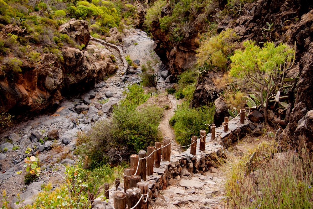 hiking path Barranco