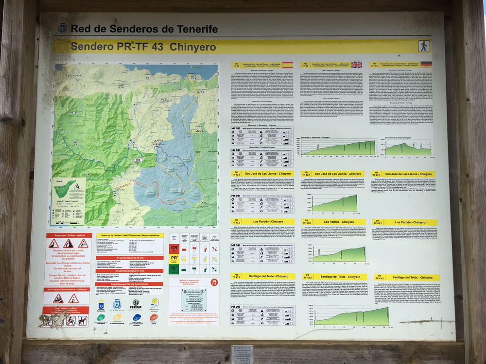 Hiking Information Board PR TF-43