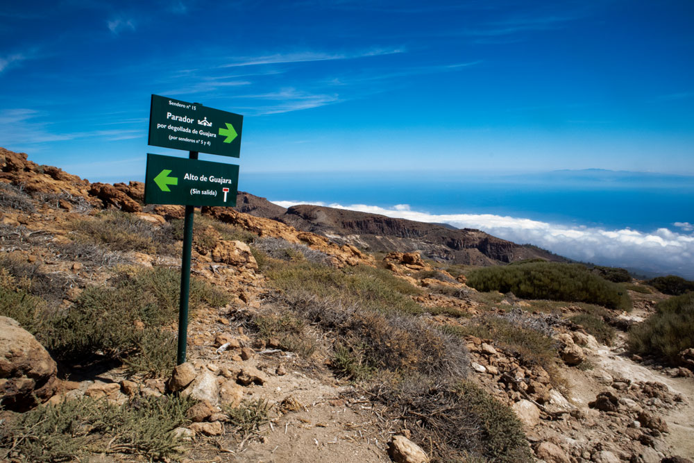 View to Gran Canaria from the hight - Guajara 2