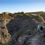 Start: hike to the Barranco Pozo - El Jaral on the other side in the background
