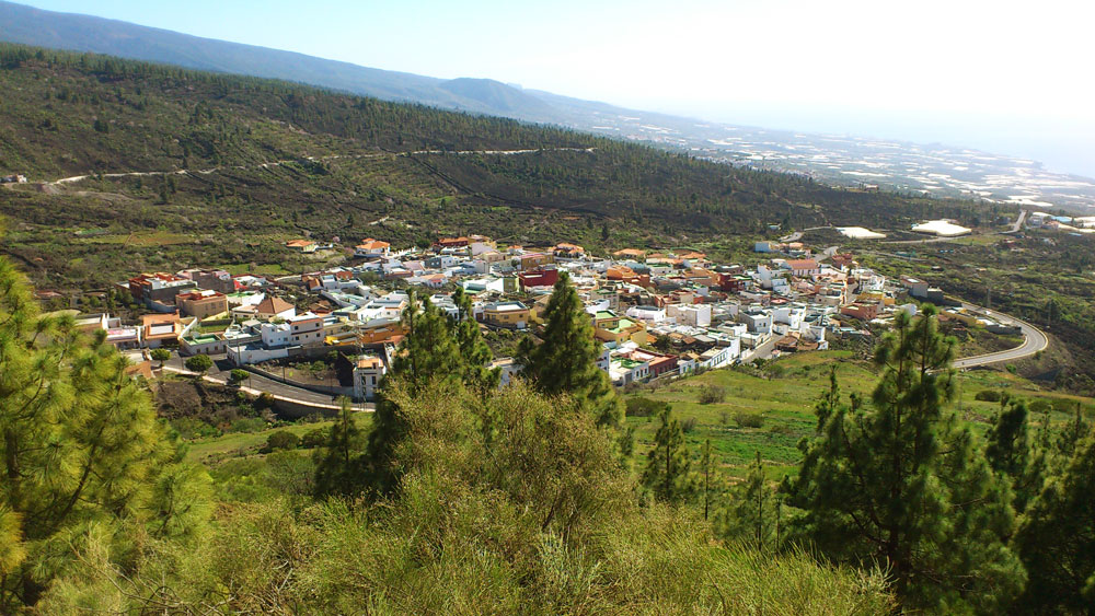 view on Arguayo and the south west cost of Tenerife