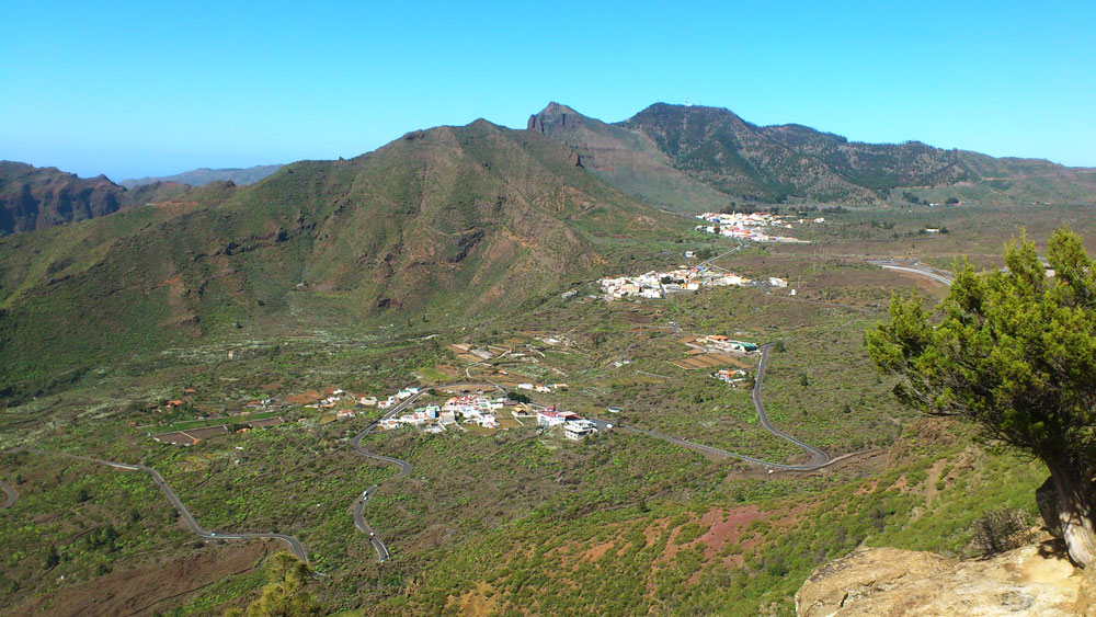View on Santiago del Teide, El Molledo and Retamar