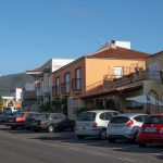 parkings in the street of El Roque - starting point