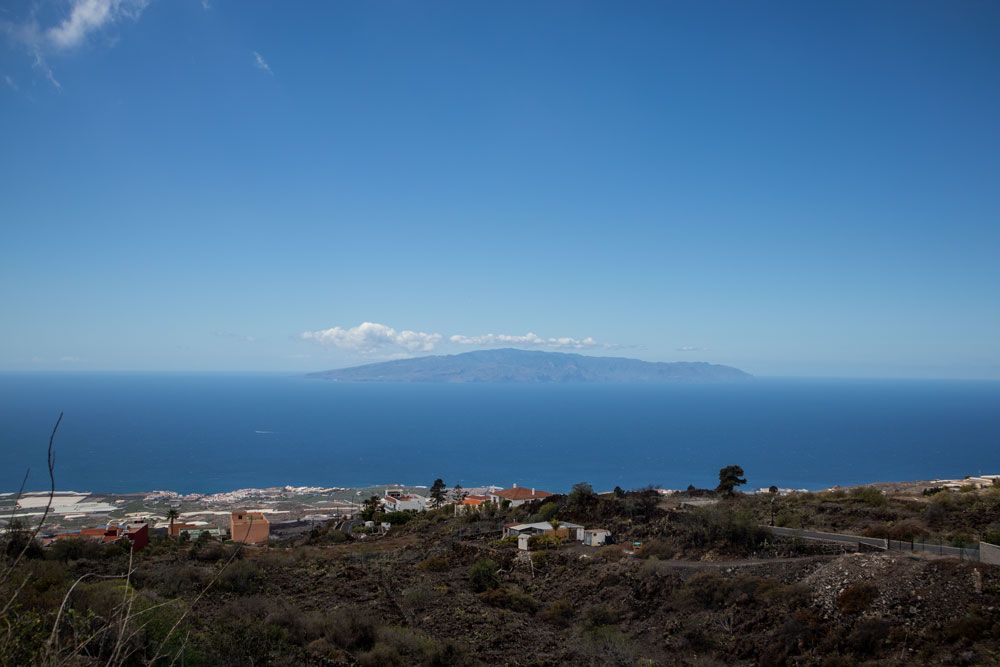 View from the top of La Gomera