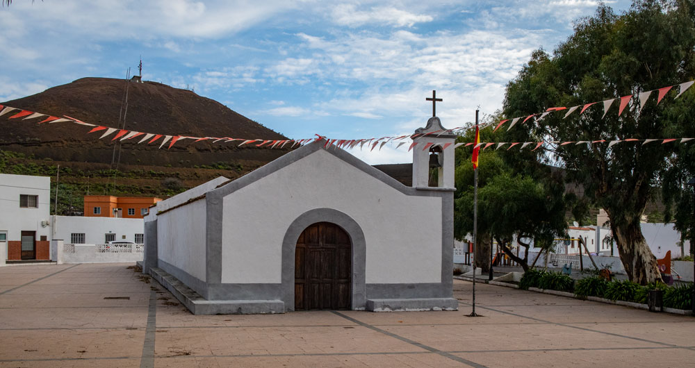 Church and church square of San Andrés