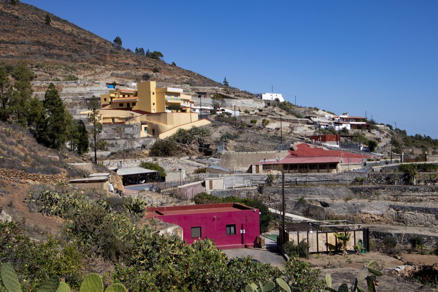 the hamlet of La Higuera
