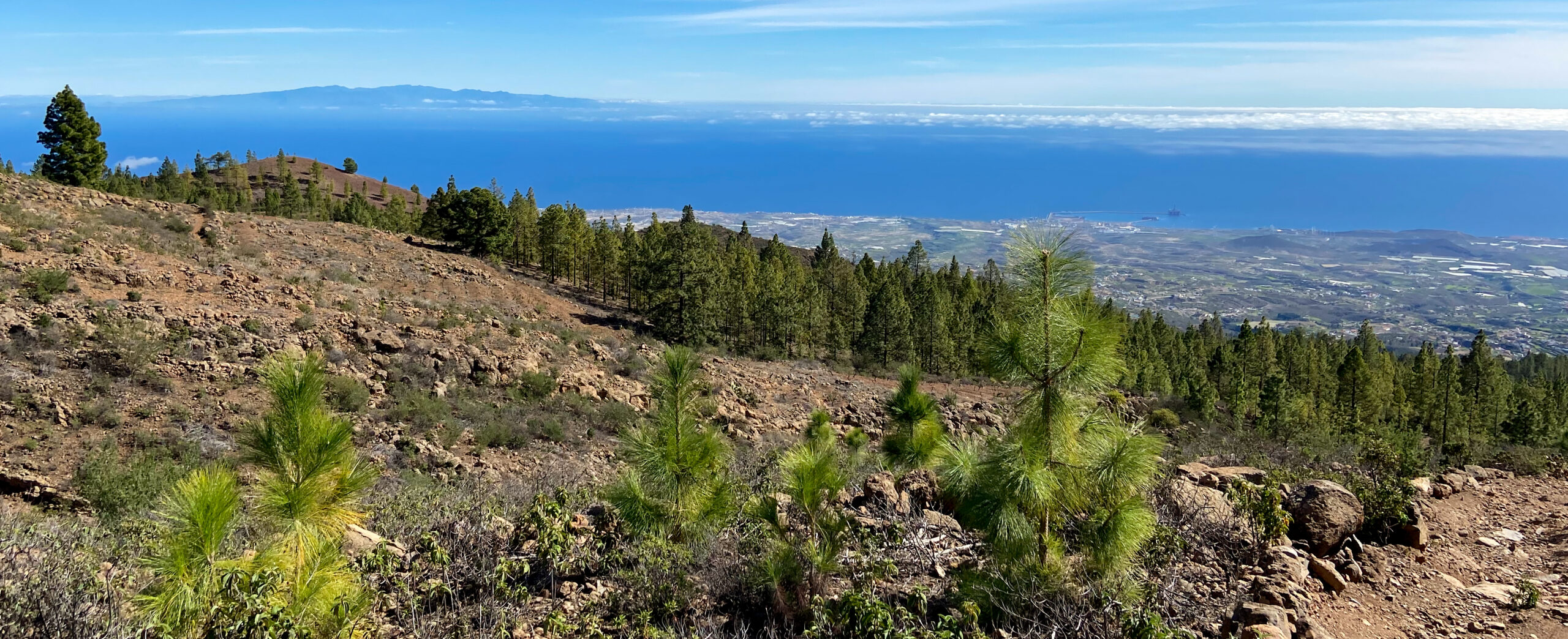 View of Gran Canaria from above